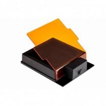Accessorio SmartDoc schermo di copertura arancio per base illuminazione a luce blu