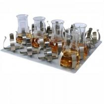 Con 16 morsetti per beute da 250 ml (360x400 mm)