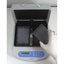 Thermo-Shaker per 2 micropiastre temperatura fino a 100°C