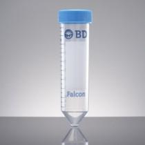 Provette fondo conico a 15ml originali Falcon. Alta trasparenza. In PP. Cf. 500pz.