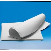 Carta da filtro cm. 50x50. Conf. 500 pezzi