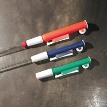 Aspiratore per pipette da 1 / 2ml colore blu