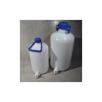 Bottiglione con rubinetto in polietilene da 50 lt
