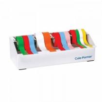 Dispenser per nastri adesivi scrivibili