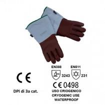 Guanto azoto liquido Cryo-HD