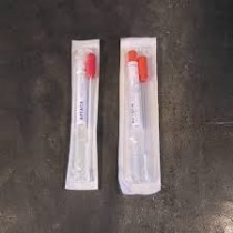 Sterile swabs with AMIES media without charcoal, rod, plastic