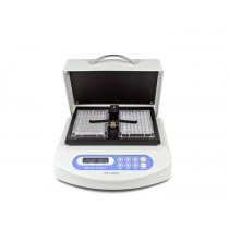 Thermo-Shaker per micropiastre con coperchio riscaldante, orbita di 2 mm.