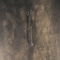 Rods for detaching and extracting the clot
