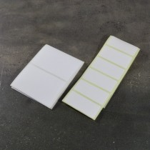 Self-adhesive resistant to acids and solvents