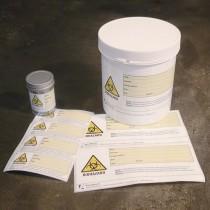 Di sicurezza autoadesive Biohazard