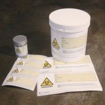 Security self-adhesive Biohazard