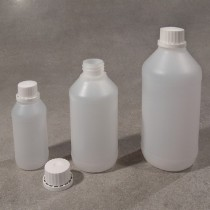 Bottles with a stopper to seal various capacities and sizes