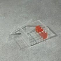 Vaschetta per colorazione vetrini mod. SCHIFFERDECKER