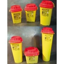 Contenitore rifiuti speciali forma quadrata
