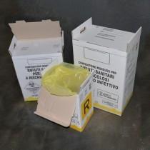 Contenitore rifiuti speciali monouso