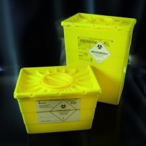 Containers for special waste and sharps PP 50 lt.-Cf.4pcs