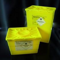 Contenitori per rifiuti speciali e taglienti in PP  da 50 lt.-Cf.4pz