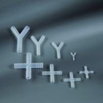 "fittings in ""Y"" - pipe Ø 8 mm-Cf.100pcs"