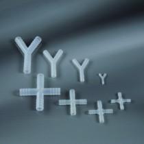 raccordi a croce per tubi Ø 4 mm-Cf.100pz