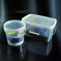 securbox - containers for transport and conservation of samples EC PP 5000 ml, with the support of 99 holes