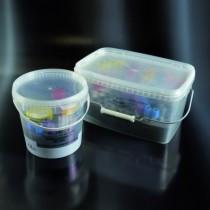 securbox - contenitori per trasporto e conservazione campioni CE in PP da 5000 ml con supporto a 99 fori