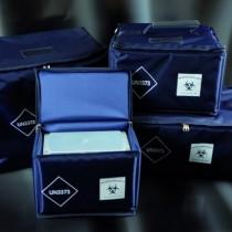 borse isotermiche per contenitore secondario dim. 480x290x200mm 28 litri ca. fino a 120 provette (3 x cod 64 896 5841)