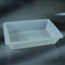 bacinelle rettangolari dim. 510x350x105 mm da 12 litri in PP