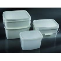 contenitori per grossi pezzi chirurgici CE dim. 277x242x223 5 mm da 11000 ml