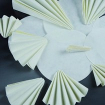 Carta da filtro filtrazioni veloci dischi piegati Ø 200 mm