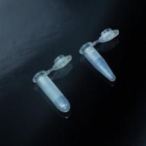 microtubi tipo EPPENDORF DNA Rnasi & Dnasi ATP free CE da 2 ml in PP trasparente