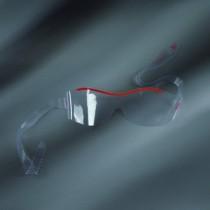 occhiali protettivi da rischio biologico in PVC forma ergonomica