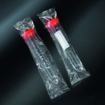 test tubes for urine sterile PS 17x105 with plug - wrap single