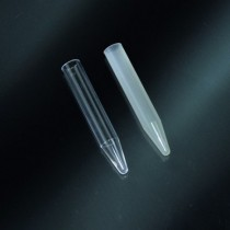 test tubes conical 4.5 ml PP 12x75 without a border