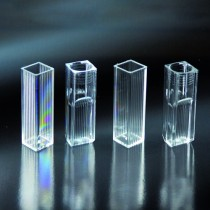 Cuvette disposable 2.0-4.0 ml in PS from 340 to 800nm