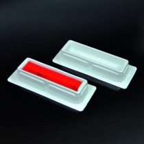 trays for reagents in PS trays, single-use 25 ml