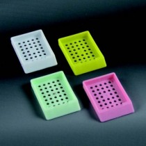 cassette embedding without lid CE with 34 round holes Ø2 mm