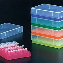 Rack con coperchio per microtubi PCR da 0.2ml colori assortiti