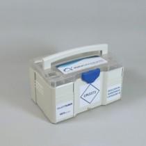 Contenitore trasporto Box Mini 3 - UN3373. Dim 265x171x142mm impilabile per trasporto multiplo