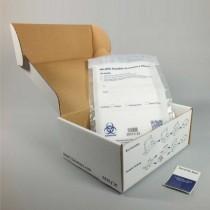 Sistema trasporto campioni 95 1K - UN3373 P650 - box 251x194x102mm. busta ed etichetta