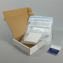 Sistema trasporto campioni 95 200G - UN3373 P650 - box 194x125x43mm. busta ed etichetta