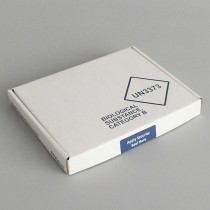 Box trasporto campioni LL1 - UN3373 P650 Dim. 192x147x24mm