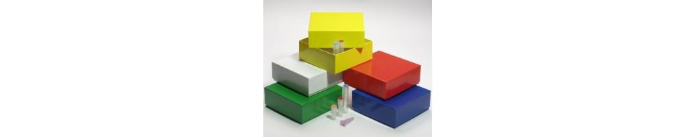 Box microtubes vials and tubes