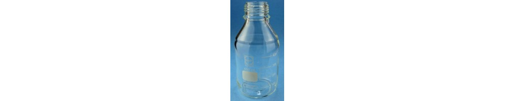Laboratory bottles-glass or plastic