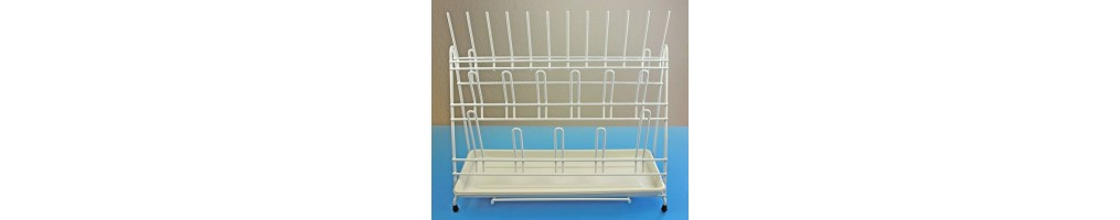 Drip tray for glassware and bottles